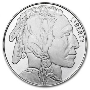 Buffalo 1oz Silver Round Proof Finish