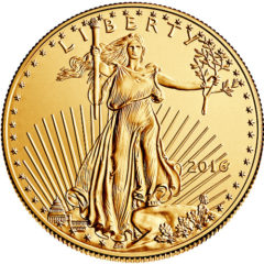 2016 1 Oz. American Gold Eagle