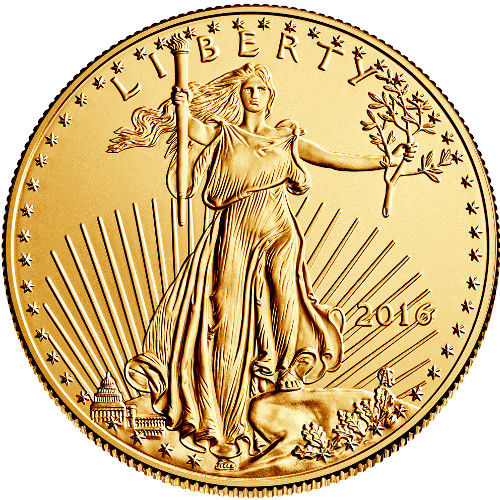 2016 1 Oz American Gold Eagle Mid America Coins