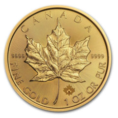 Random Backdate 1 Oz. Canadian Gold Maple Leaf