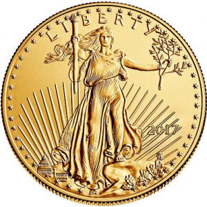 2017 1 Oz. American Gold Eagle
