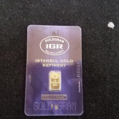 Istanbul Gold Refinery 1 Gram Gold Bar