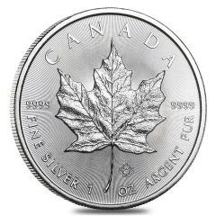 2019 Canada 1 oz Silver Maple Leafs