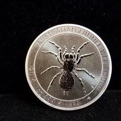 2015 Australian Funnel-Web Spider 1 Oz Silver Coin