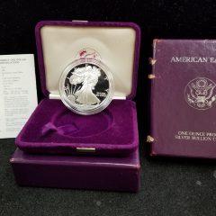 1986 1oz Proof Silver Eagle