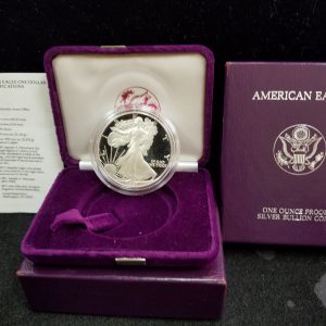 1987 1oz Silver Proof Eagle