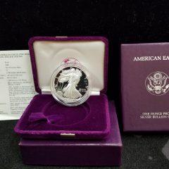 1988 1oz Silver Proof Eagle