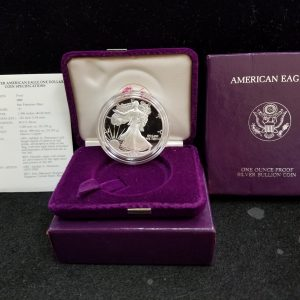 1989 1oz Silver Proof Eagle