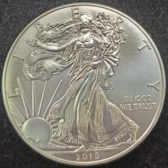 2015 1oz Silver American Eagle Uncirculated